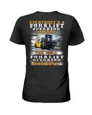 Forklift Operator Ladies T-Shirt thumbnail