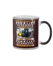 Forklift Operator Color Changing Mug thumbnail