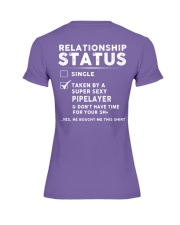 Pipelayer Job Relationship Status Premium Fit Ladies Tee thumbnail