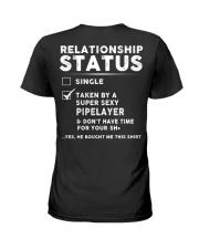 Pipelayer Job Relationship Status Ladies T-Shirt back