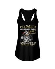 Plumber Ladies Flowy Tank thumbnail