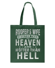 ROOFER'S WIFE Tote Bag thumbnail