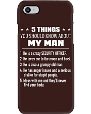 Security Officer Phone Case thumbnail