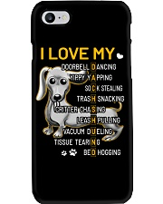 I Love My Dachshund Dogs Phone Case thumbnail