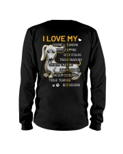 I Love My Dachshund Dogs Long Sleeve Tee thumbnail