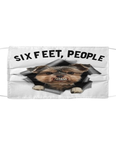 Yorkshire Terrier 6 Feet People Limited Edition