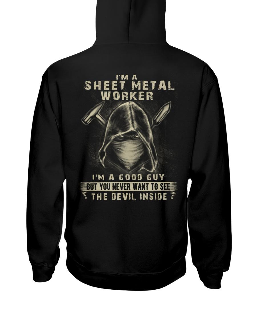 Sheet Metal Worker Hooded Sweatshirt