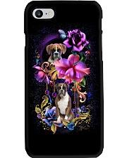 Boxer Dog Flower Phone Case Phone Case i-phone-8-case