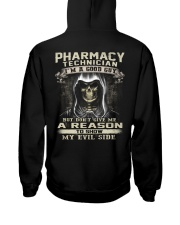 Pharmacy Technician Hooded Sweatshirt back