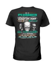 Plumber Ladies T-Shirt thumbnail