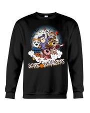 Scare Schnauzers Halloween Shirt Crewneck Sweatshirt tile