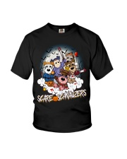 Scare Schnauzers Halloween Shirt Youth T-Shirt tile