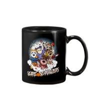 Scare Schnauzers Halloween Shirt Mug tile