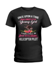 Helicopter Pilot Ladies T-Shirt front