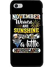 November Woman Phone Case thumbnail