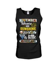November Woman Unisex Tank thumbnail