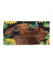 Dachshund Flower Phone Case Cloth face mask thumbnail