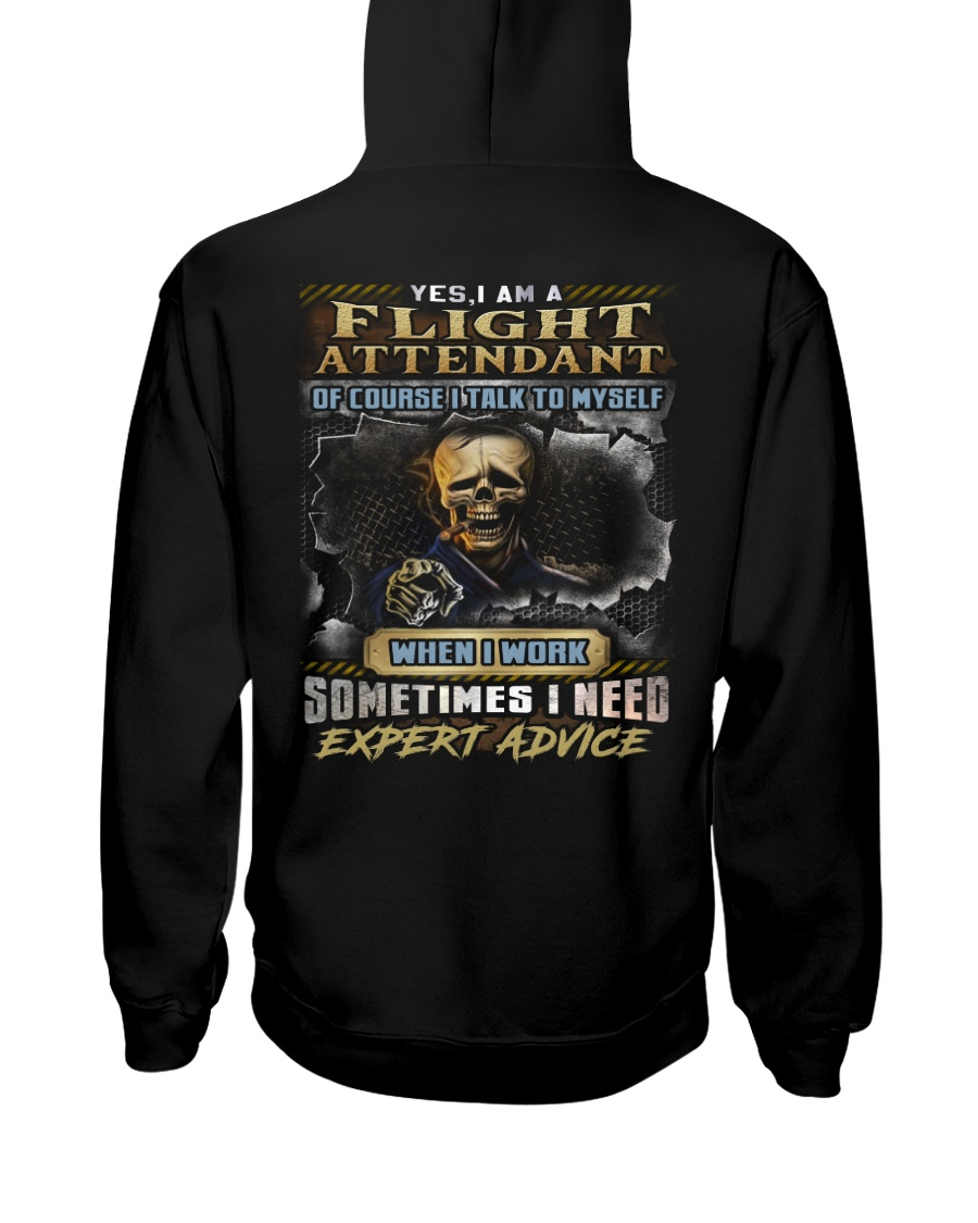 Flight Attendant Hooded Sweatshirt