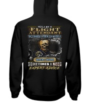 Flight Attendant Hooded Sweatshirt back