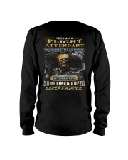 Flight Attendant Long Sleeve Tee thumbnail