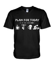 Lineman V-Neck T-Shirt thumbnail