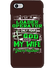 Loader Operator Phone Case thumbnail