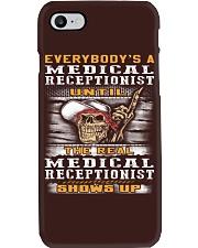 Medical Receptionist Phone Case thumbnail