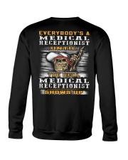 Medical Receptionist Crewneck Sweatshirt thumbnail