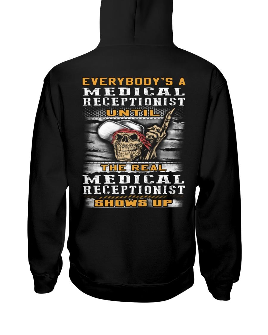 Medical Receptionist Hooded Sweatshirt