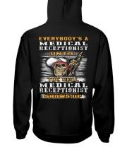 Medical Receptionist Hooded Sweatshirt back