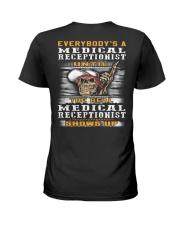 Medical Receptionist Ladies T-Shirt thumbnail