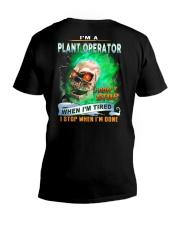 Plant Operator V-Neck T-Shirt thumbnail