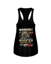 Roofer Ladies Flowy Tank thumbnail