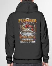 Plumber Hooded Sweatshirt garment-hooded-sweatshirt-back-04