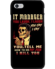 IT Manager Phone Case thumbnail