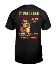 IT Manager Premium Fit Mens Tee thumbnail