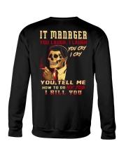 IT Manager Crewneck Sweatshirt thumbnail