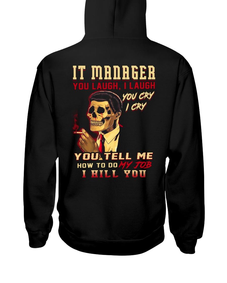 IT Manager Hooded Sweatshirt