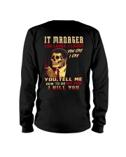 IT Manager Long Sleeve Tee thumbnail
