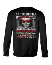 NDT Technicican Crewneck Sweatshirt thumbnail