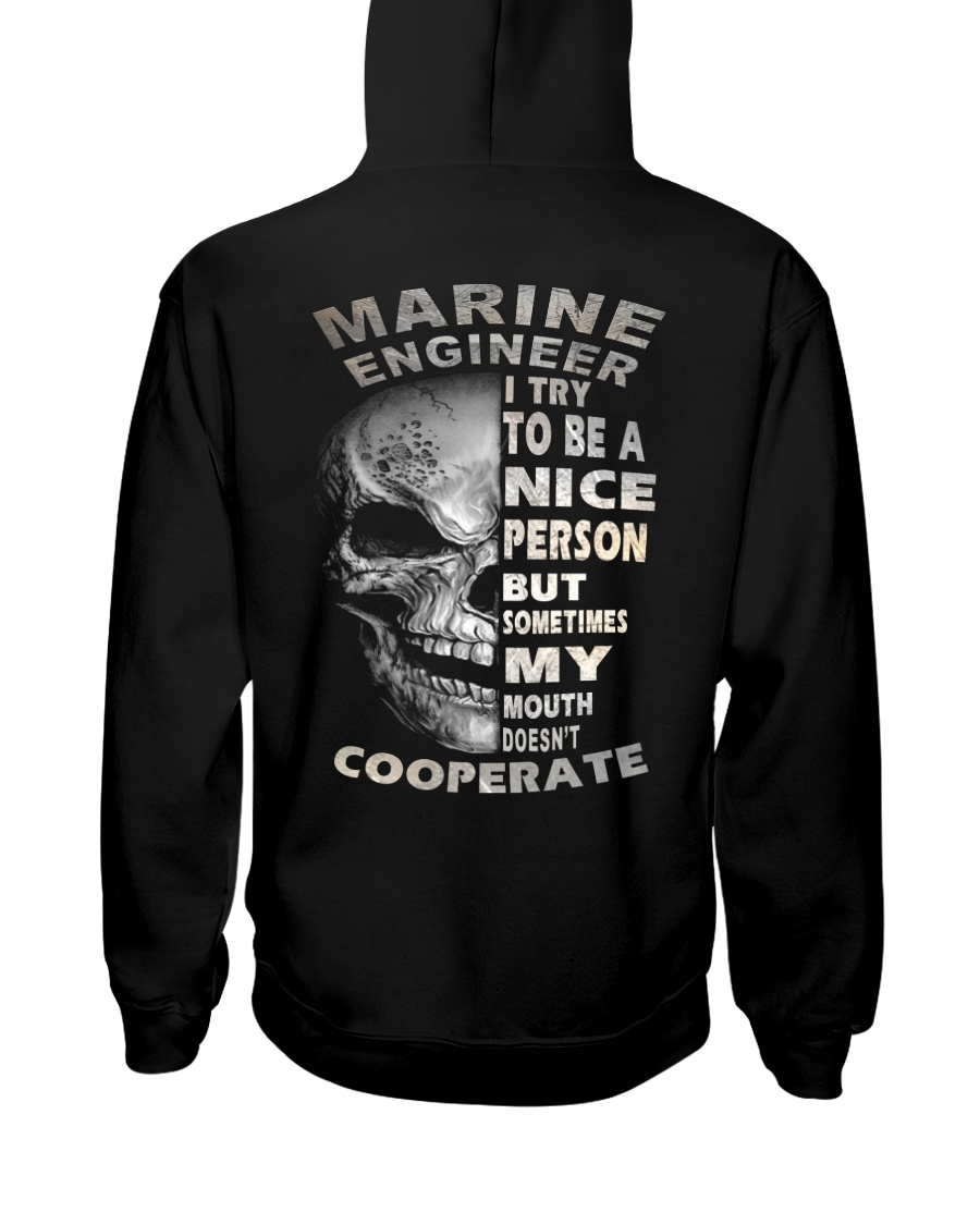 Marine Engineer Hooded Sweatshirt