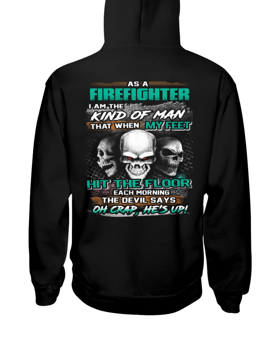 Firefighter Hooded Sweatshirt