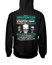 Firefighter Hooded Sweatshirt back