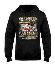 Plumber Hooded Sweatshirt thumbnail