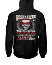 Bookkeeper Hooded Sweatshirt back