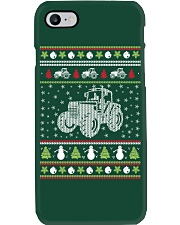 Tractor Ugly Christmas Sweater Phone Case thumbnail