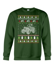 Tractor Ugly Christmas Sweater Crewneck Sweatshirt thumbnail