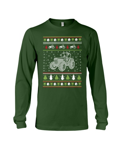 Tractor Ugly Christmas Sweater