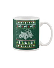 Tractor Ugly Christmas Sweater Mug thumbnail