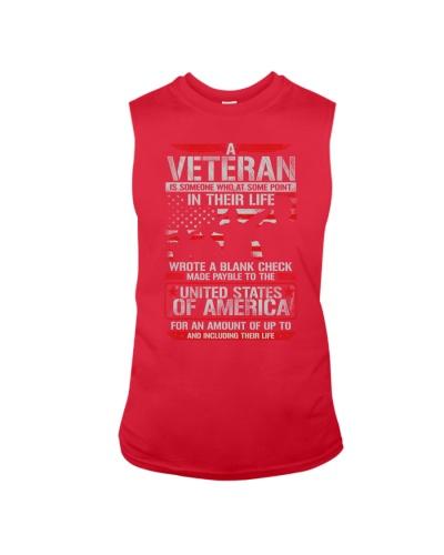 Veteran Wrote Blank Check